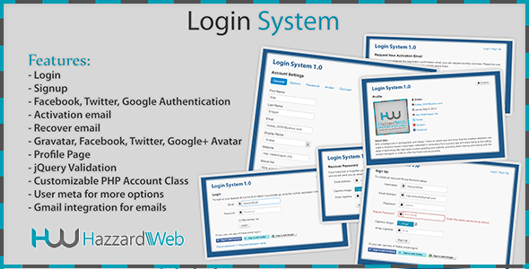 CodeCanyon Account System Multi-Feature 4692397