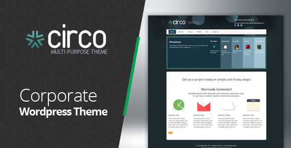 Circo Business + Blog + Portfolio Wordpress Theme - Creative WordPress