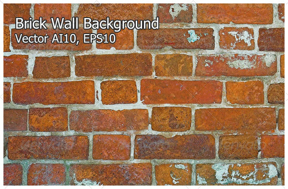 Brick Wall Background - Backgrounds Decorative