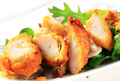 Breaded chicken breast with salad greens - PhotoDune Item for Sale