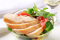 Chicken breast with salad greens - PhotoDune Item for Sale