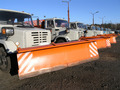 row of new snow plows - PhotoDune Item for Sale