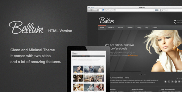 ThemeForest Bellum HTML Version 4706490