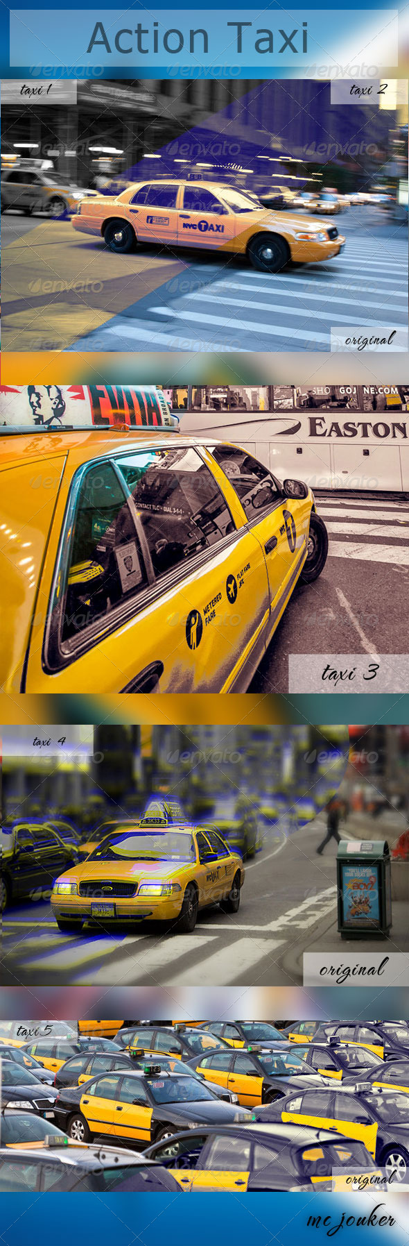 GraphicRiver Action Taxi 4706534