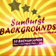 Sunburst Backgrounds - GraphicRiver Item for Sale