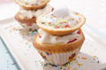 cupcake with cream and sprinkles - PhotoDune Item for Sale