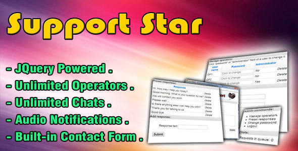 SupportStar - CodeCanyon Item for Sale