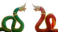 Thai dragon or king of Naga statue isolate - PhotoDune Item for Sale