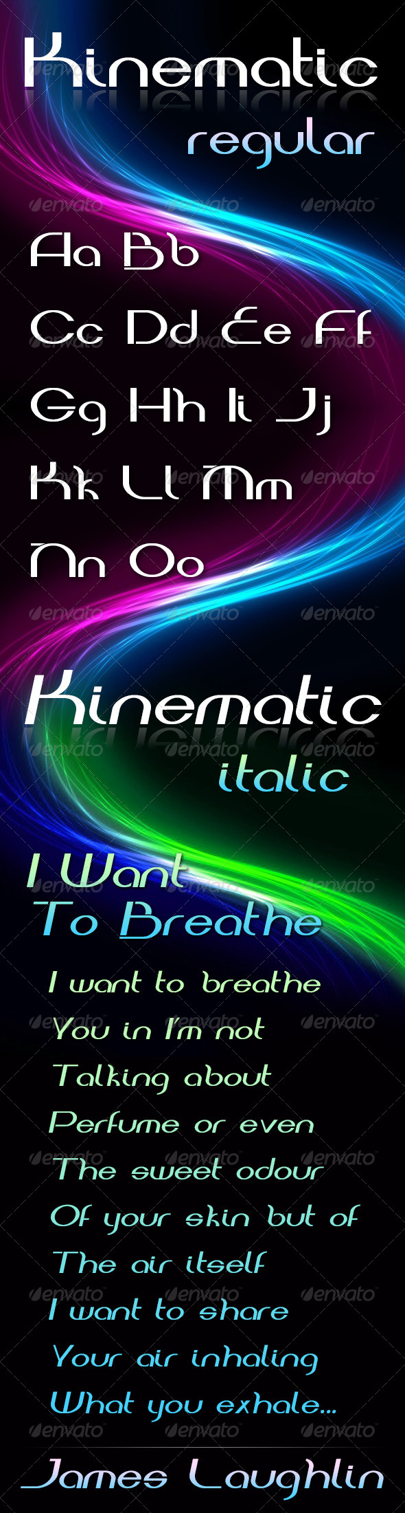 GraphicRiver Kinematic Font 4708192