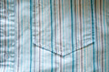 shirt fabric pocket crumple blue lines background - PhotoDune Item for Sale