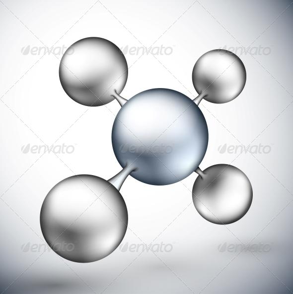 GraphicRiver 3D Molecule 4709764