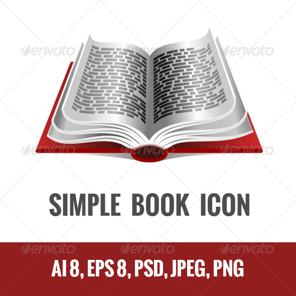 GraphicRiver Book Icon 4709769