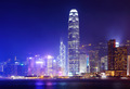 Victoria Harbor of Hong Kong at night - PhotoDune Item for Sale