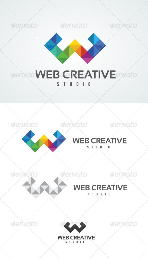 GraphicRiver Web Creative Studio Logo 4710965