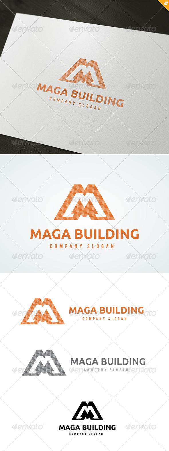 GraphicRiver Maga Building Logo 4711337