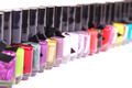 Group of bright nail polishes - PhotoDune Item for Sale