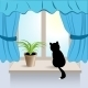 Window Cat - GraphicRiver Item for Sale