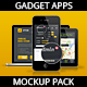 Gadget and Devices APP and Design mockup Pack - GraphicRiver Item for Sale