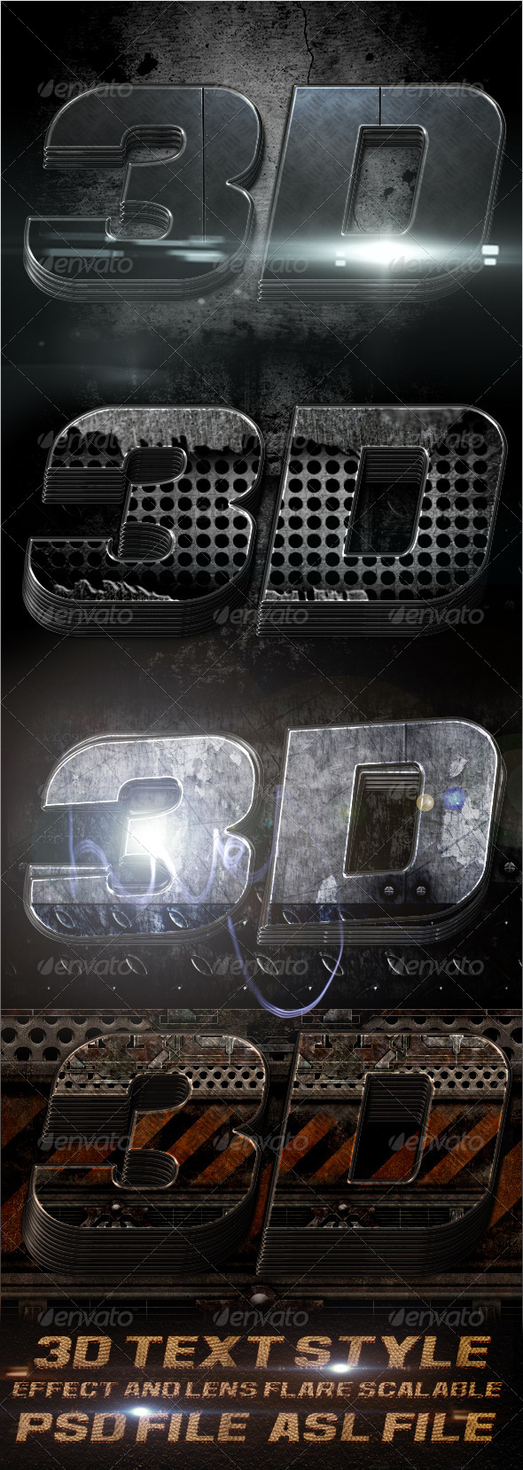 GraphicRiver 3D Text Styles v1 4716418