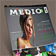 Medio - Modern Magazine - GraphicRiver Item for Sale