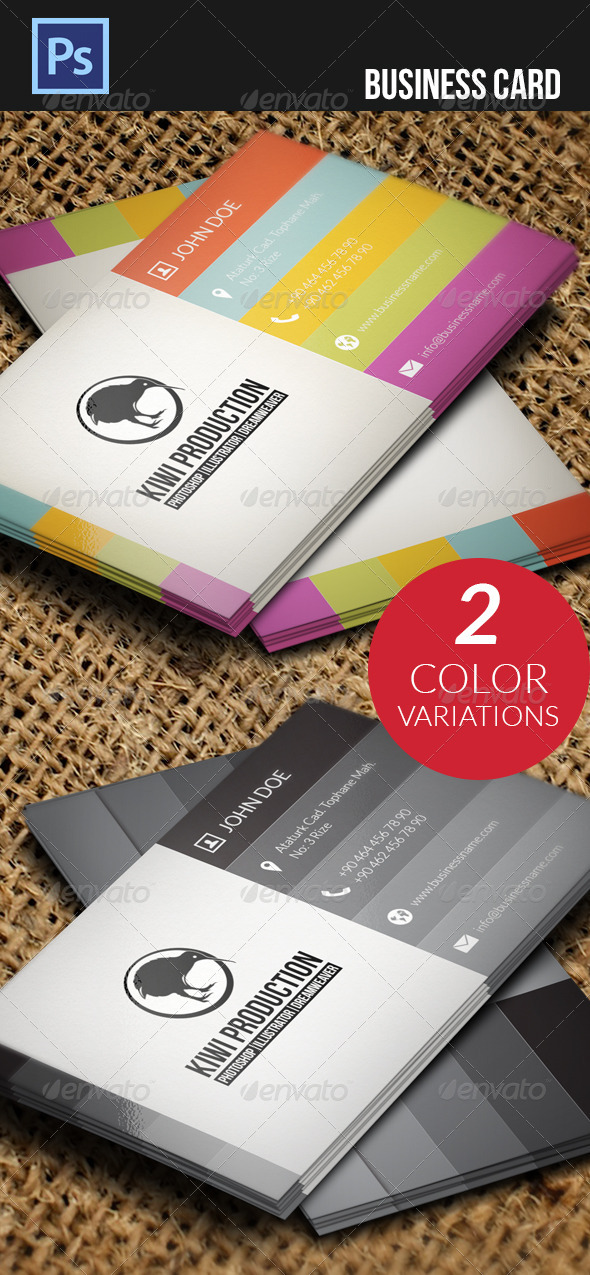 GraphicRiver Business Card 4717407