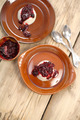 Panna cotta with berry sauce - PhotoDune Item for Sale