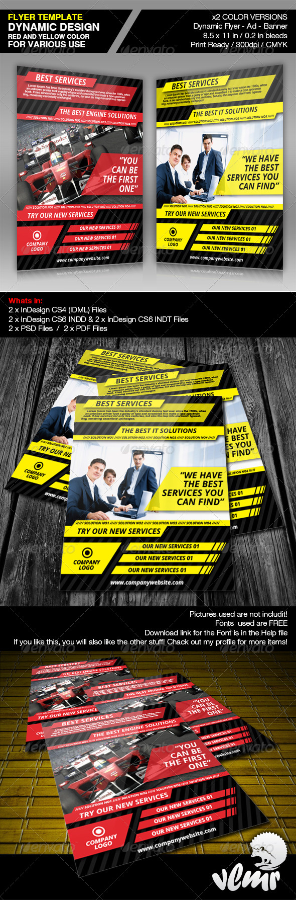 GraphicRiver Dynamic Flyer Ad Template 4717934