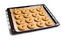 sweet ring biscuit on baking tray - PhotoDune Item for Sale