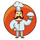 Vector Cartoon Character Chef - GraphicRiver Item for Sale