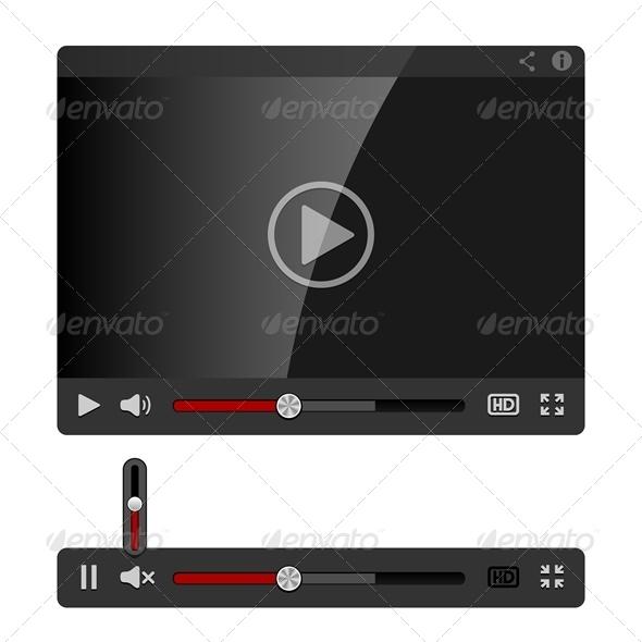 GraphicRiver Video Player 4718887