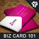 Business Card Design 101 - GraphicRiver Item for Sale