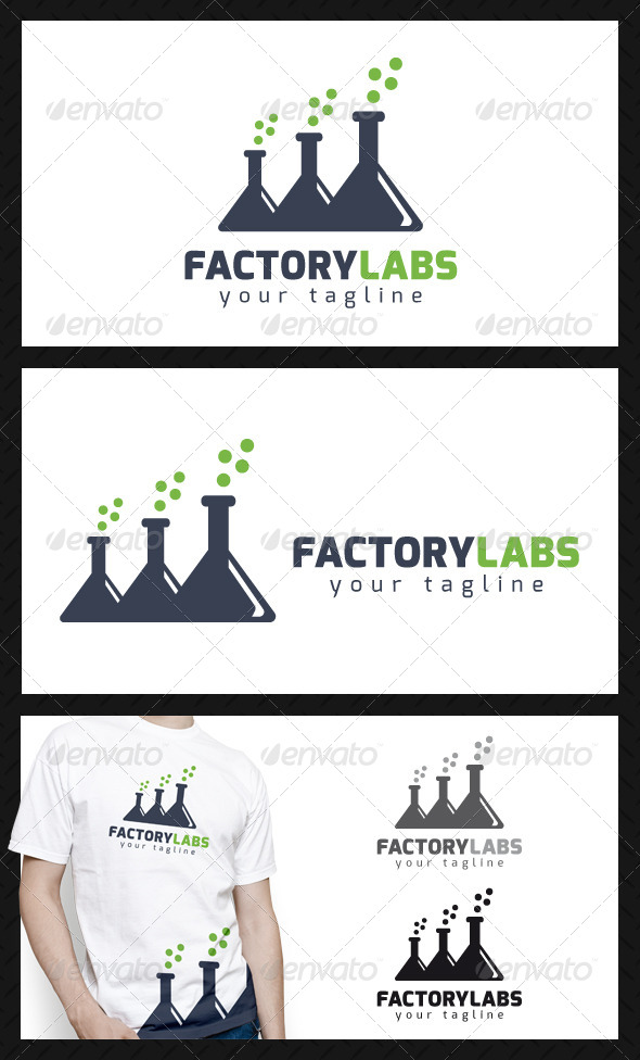 GraphicRiver Factory Labs Logo Template 4719556