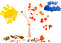 child's drawing - autumn tree - PhotoDune Item for Sale
