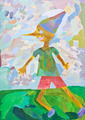 child's paiting - Pinocchio - PhotoDune Item for Sale