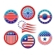 American National Banners and Symbols - GraphicRiver Item for Sale