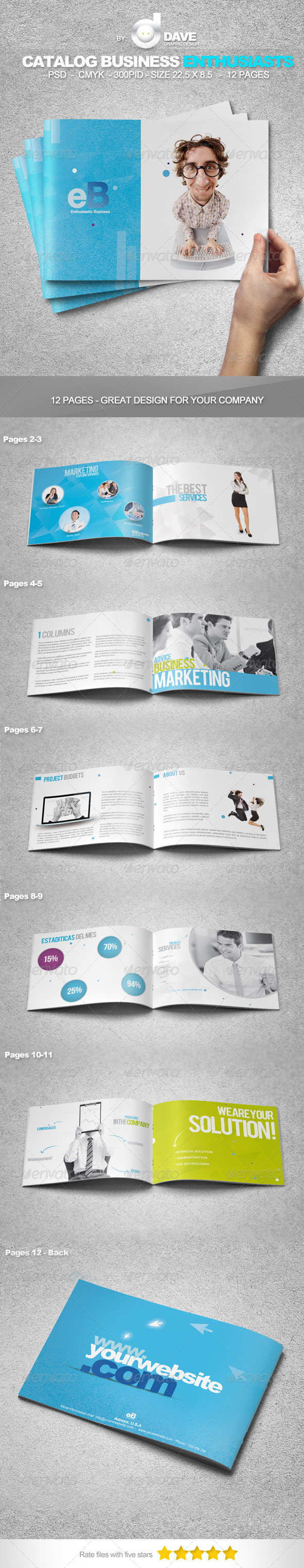 GraphicRiver Catalog Business Enthusiasts 4641341