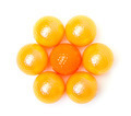 Orange and golden golf balls - PhotoDune Item for Sale