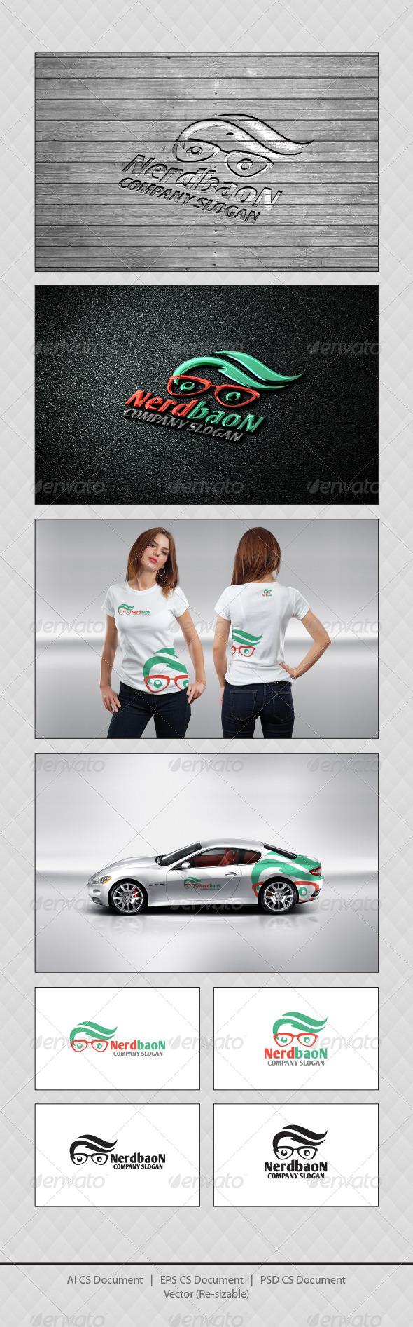 GraphicRiver Nerd Baon Logo Templates 4720460