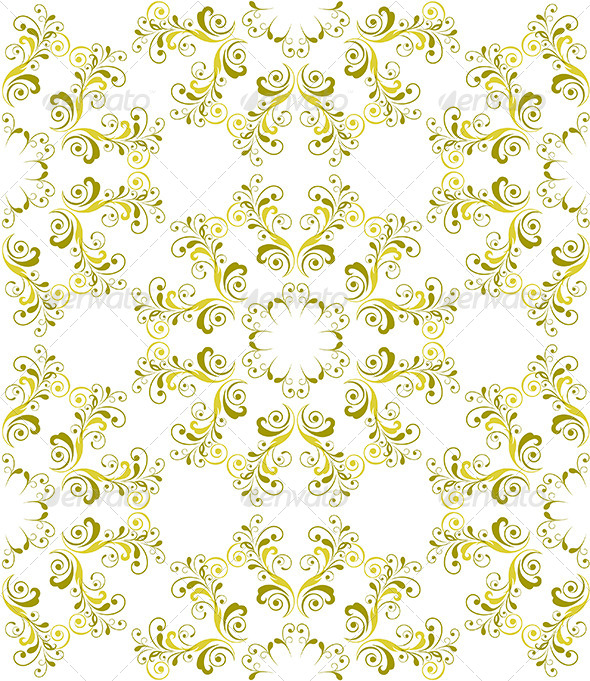 GraphicRiver Seamless Foral Pattern 4720775