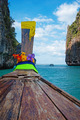 Traditional longtail boats in  Phi-phi Leh island - PhotoDune Item for Sale