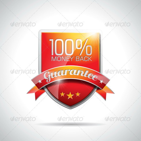 GraphicRiver Guarantee Labels Illustration 4721721