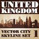 Vector City Skyline. United Kingdom. Set Number 1 - GraphicRiver Item for Sale