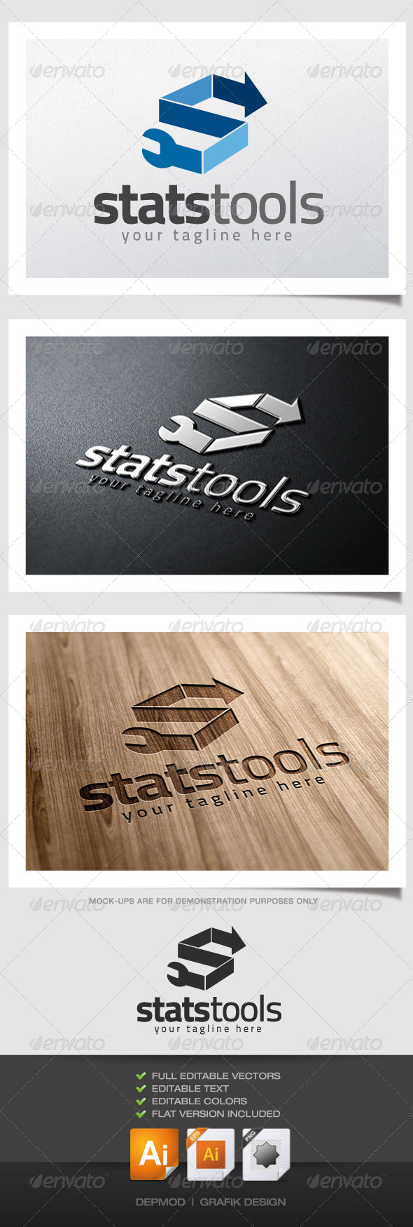 GraphicRiver Stats Tools Logo 4722728