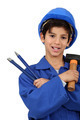 Little Latino worker. - PhotoDune Item for Sale