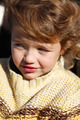 Little girl wearing knitted jumper - PhotoDune Item for Sale