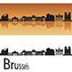 Brussels Skyline - GraphicRiver Item for Sale