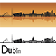 Dublin Skyline - GraphicRiver Item for Sale