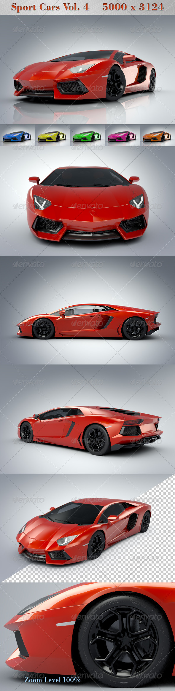 GraphicRiver Sport Cars Vol.4 4725360