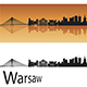 Warsaw Skyline - GraphicRiver Item for Sale