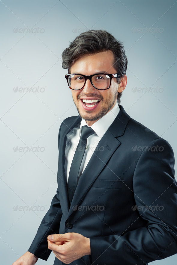 businessman portrait - Stock Photo - Images